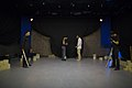 نمایش هملت در قم به کارگردانی علی علوی و گروه تئاتر گاراژ به روی صحنه رفت hamlet Garage Theater qom 03.jpg