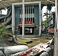 光復國中毀損校門 The Damaged Gate of Guangfu Junior High School - panoramio.jpg