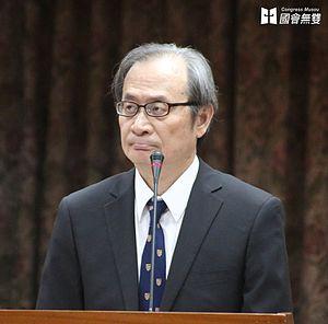 Atomic Energy Council - Hsieh Shou-shing, the incumbent Minister of Atomic Energy Council