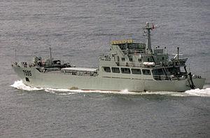 駐港部隊艦艇大隊 - 7595登陸艇.JPG