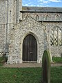 -2018-12-10 South facing porch of Saint Margaret of Antioch parish church, Suffield, Norfolk.JPG