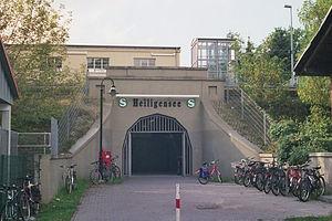Heiligensee station - Entrance