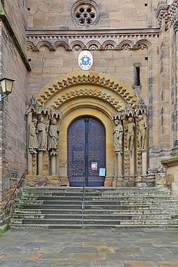 00 3376 Bamberg - Dom (Adamspforte)