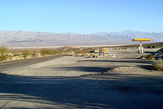 Panamint Springs, California - Panamint Valley from Panamint Springs.