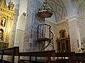 01d Olmos de Esgueva iglesia san Pedro pulpito Ni.jpg