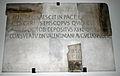 0393 - Milano - San Nazaro - Epigrafe vescovo Glicerio (435-437) - Foto Giovanni Dall'Orto 5-May-2007.jpg