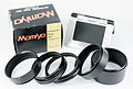 0601 Mamiya Universal Super 23 extention ring set and ground glass (9124402190).jpg