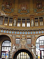 066 Estació Central, atri monumental i cúpula.jpg