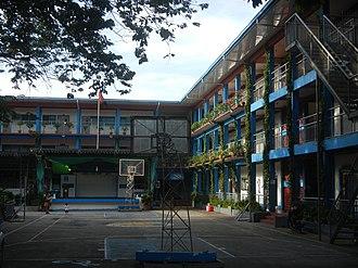 Arellano University - Image: 0710jf Barangay Pag Asa Arellano University Plaridel Campus Mandaluyong Cityfvf 05