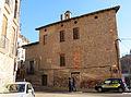 084 Can Cavaller (Monistrol de Montserrat), façana oest, pl. de la Font Gran.JPG