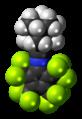1-Adamantyl-nitrilium-N-tetrakis(trifluoromehyl)cyclopentadienylide-3D-spacefill.png