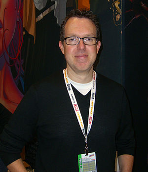 Jay Faerber - Faerber at the 2012 New York Comic Con.