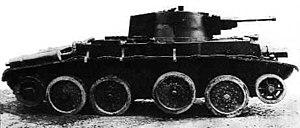 10TP - The Polish light cruiser tank 10TP.