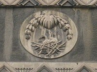 1180 Gentzgasse 79 - Tiermedaillon rechts innen IMG 5395.jpg