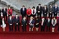 11 Marzo 2018, Pdta. Bachelet y Ministros participan de foto oficial previo al cambio de mando. (39852911065).jpg