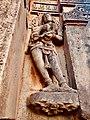 11th 12th century Iswara temple, Kamaleshwara Kalleswara Kamlishvara, Jalasangvi Karnataka India - 11.jpg