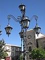 130 Plaza del Ayuntamiento, fanal i Palacio de las Cadenas.jpg