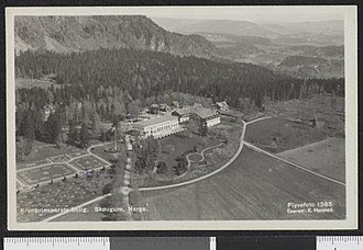 Skaugum - Image: 1385. Kronprinsparets bolig. Skougum, Norge. Flyvefoto no nb digifoto 20150629 00002 bldsa PK21842