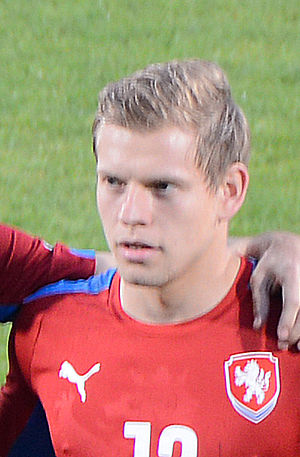 Matěj Vydra - Vydra with the Czech Republic national team in 2014