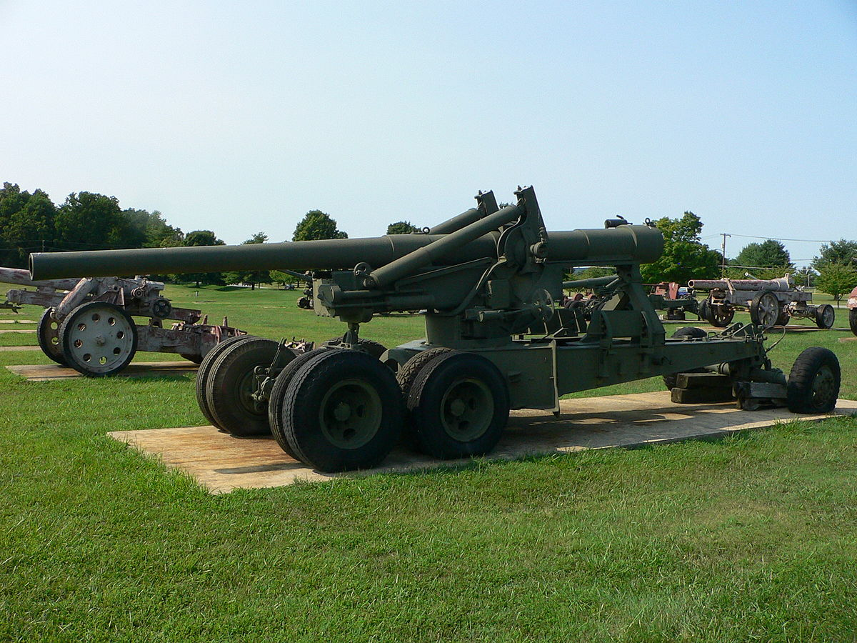 155 mm Gun M1 - Wikipedia
