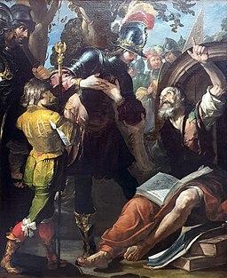 1630 Assereto Alexander und Diogenes Gemäldegalerie Kat.Nr. 84.2 anagoria