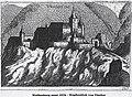 1672 Weissenburg at Frankenfels by Georg Matthäus Vischer.jpg