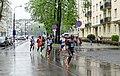 18. PZU Cracovia Marathon, Mierzwy street (28 km), Nowa Huta, Krakow, Poland.jpg