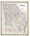 1855 Colton Map of Georgia - Geographicus - Georgia-colton-1855.jpg