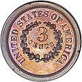 1863 3C Three Cents, Judd-319 Restrike, Pollock-384, R.5 rev.jpg