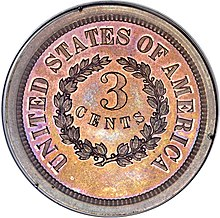 1863 3C Three Cents, Judd-319 Restrike, Pollock-384, R.5 rev.jpg