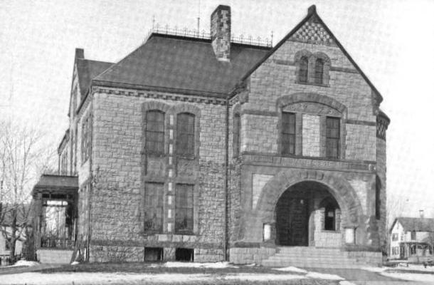 1899 Milford public library Massachusetts