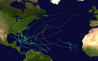 1901 Atlantic hurricane season hurricane season in the Atlantic Ocean