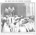 1909-01-27, Actualidades, El rey en el Buen Suceso, Goñi.jpg