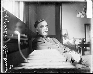Elsie Paroubek - Chicago Chief of Police John McWeeny, taken by a Chicago Daily News photographer in 1911 and possibly published in the newspaper. Chicago Daily News negatives collection, DN-0057767. Courtesy of Chicago History Museum.