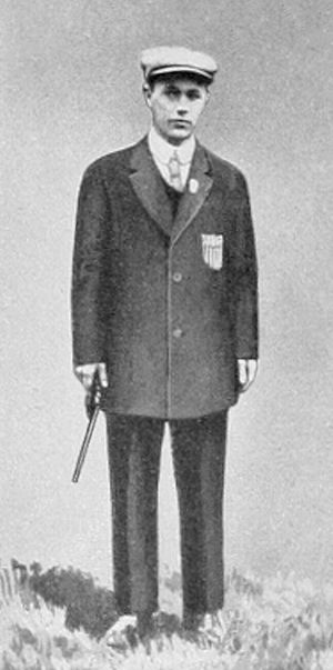 ISSF 25 meter rapid fire pistol - Alfred Lane at the 1912 Olympics