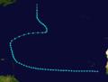 1913 Atlantic tropical storm 3 track.png