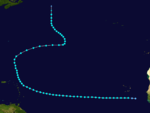 1913 Atlantic tropical storm 3 track.png