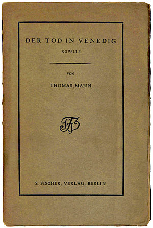 Death in Venice - Image: 1913 Der Tod in Venedig Broschur