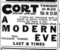 1915 Cort theatre BostonGlobe 26April.png