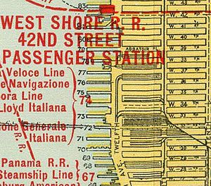 Kaufman Act - Freight yards and tracks of the West Side (27th to 43rd Streets)