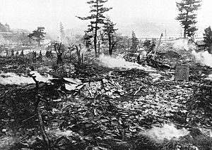 1927 Kita Tango earthquake - Image: 1927 Kita Tango Earthquake damage at Yotsutsuji