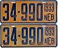 1933 Nebraska license plates 34-990.jpg
