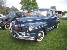 1946 Mercury Eight Town Sedan