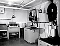 1956. Print processing darkroom at Sellwood Lab. Portland, Oregon. (28338744449).jpg