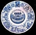 1962 - Allentown Bicentennial Plate (Blue) - Allentown PA.jpg