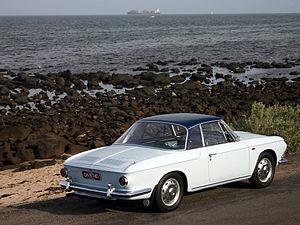 Sergio Sartorelli - 1966 Type 34 Karmann Ghia rear