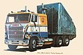 1975 - Mack Cabover Pulling Doubles - 1976 Commemerative Card - Allentown PA.jpg