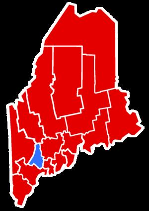 Maine gubernatorial election, 1986 - Image: 1986Maine Gubernatorial