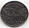 1 песо. Куба. 2000. Новое тысячелетие - Голубь.jpg