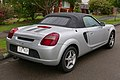 2002 Toyota MR2 (ZZW30R) Spyder convertible (2015-08-07) 02.jpg
